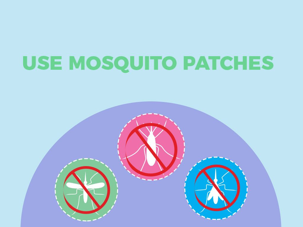 Use mosquito patches