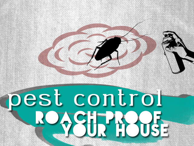 pest control - roach proof your house