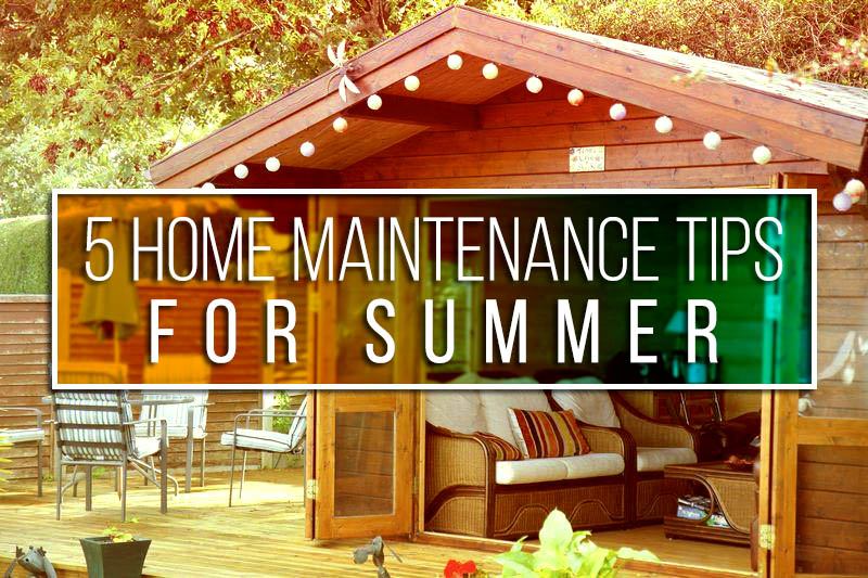 TopBest Termite Control - 5 Home Maintenance Tips For Summer