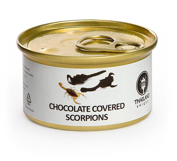 chocolate scorpion
