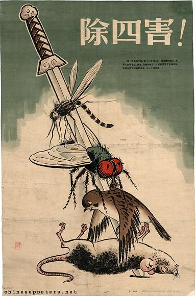 four pests campaign