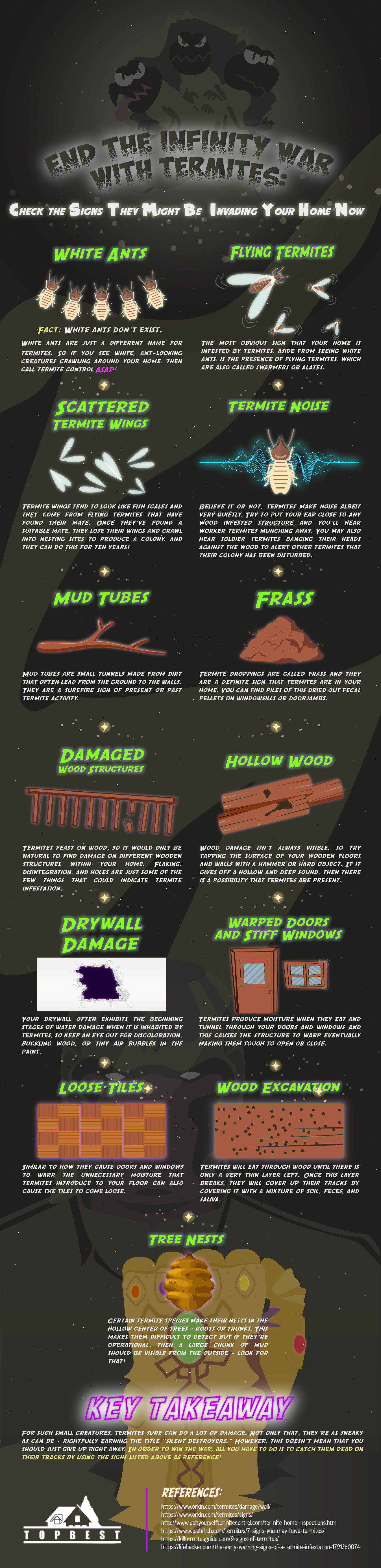 End-the-Infinity-War-with-Termites_Check-the-Signs-They-Might-Be-Invading-Your-Home-Now Infographic