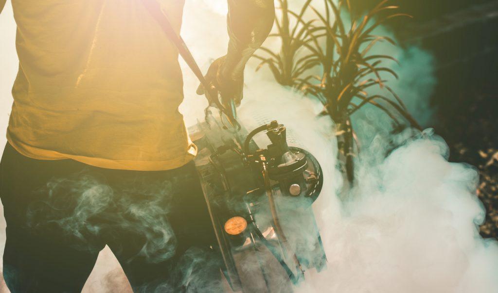Fumigator at home