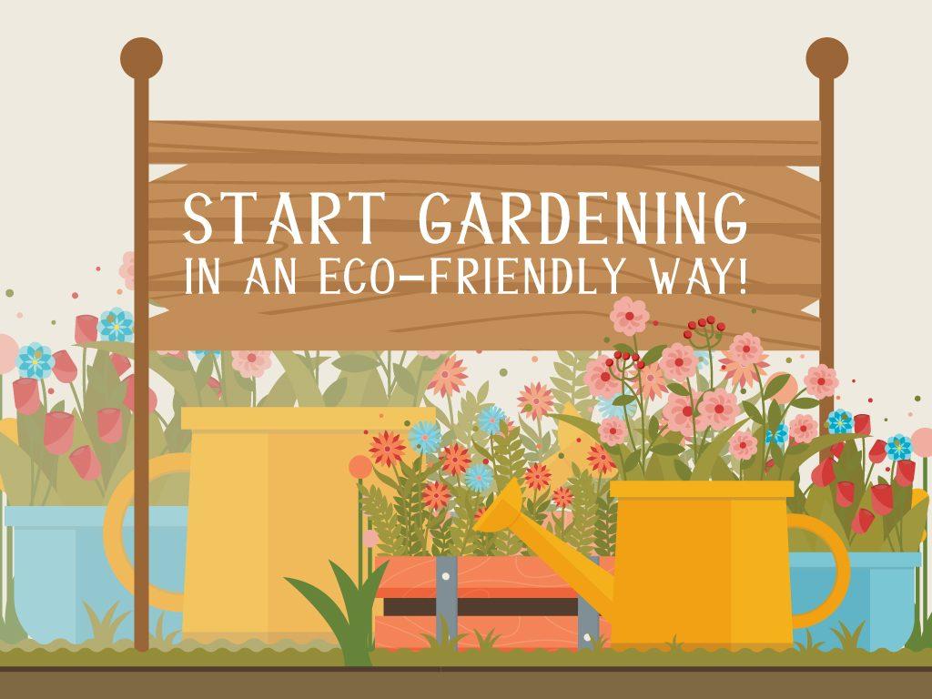 Start Gardening in an Eco-Friendly Way!